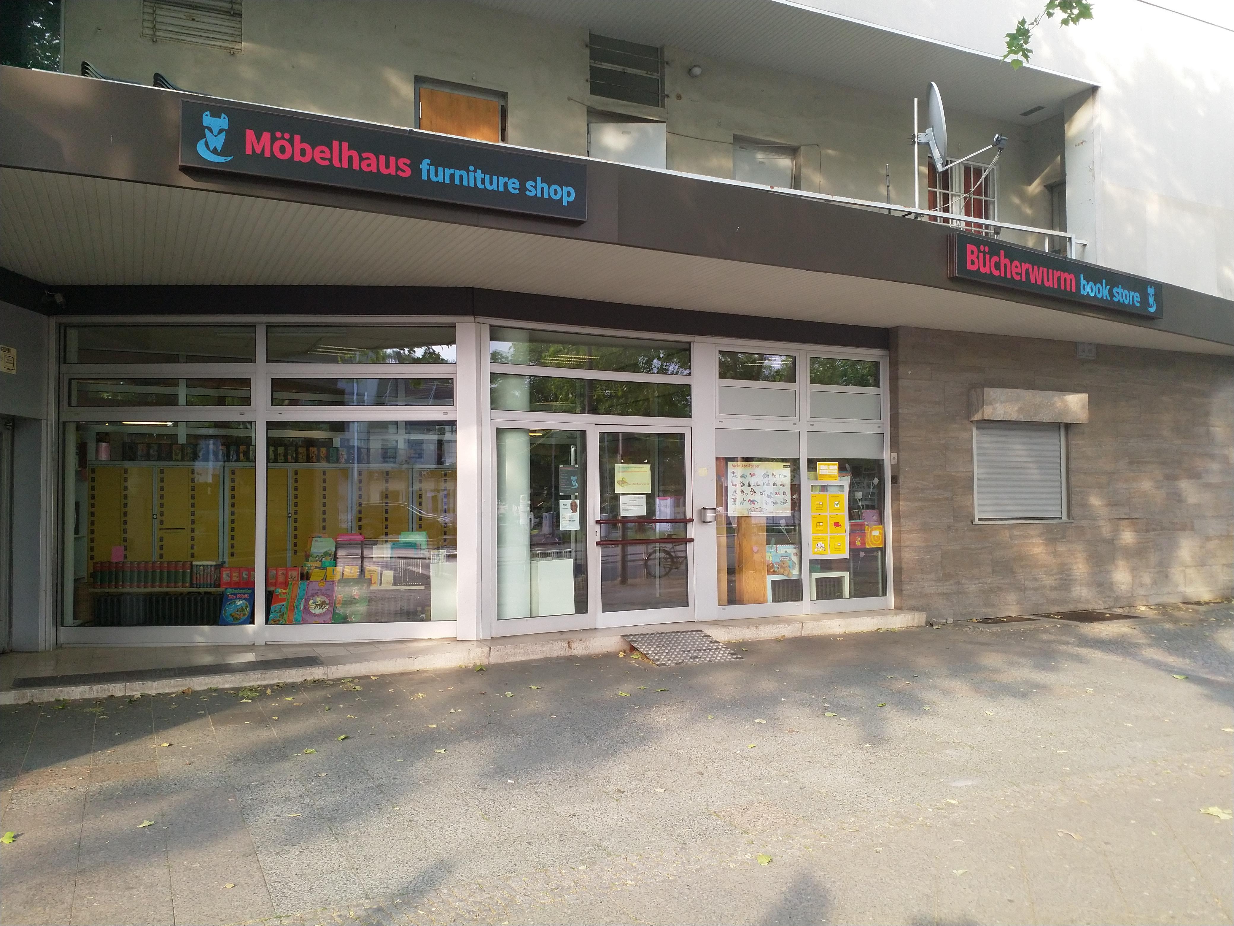 Buecherwurm+Moebelhaus