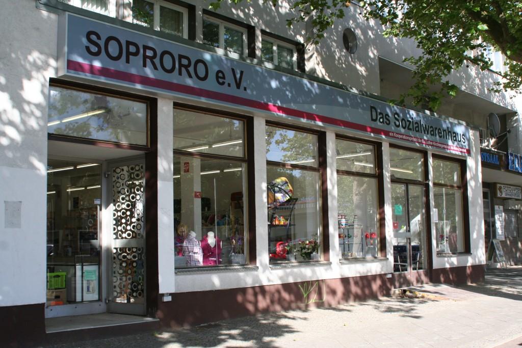 Das neue Sozialwarenhaus in der Roedernallee 88-90, 13437 Berlin